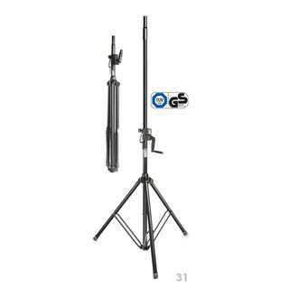 Gravity Stands: Wind-Up Speaker Stand: GSP4722B