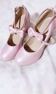 Lolita Ribbon Shoes
