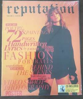 Taylor Swift REPUTATION: VOLUME 1 includes CD SEALED