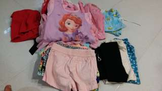 Over 20pcs 2 to3 year old girl dress and pants