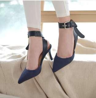 BOWBOW POINTED SHOES/Heels Sepatu Cewek