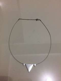 H&M triangle necklace