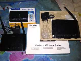 Wirless router & modem router