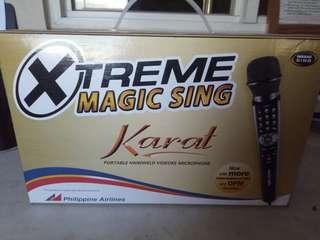 Xtreme Magic Sing (Karat) w/ free 2 song chips