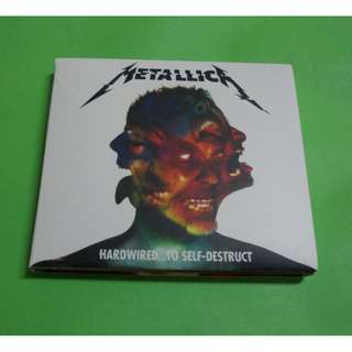 CD METALLICA : HARDWIRED… TO SELF-DESTRUCT ALBUM (2016) (2xCD)