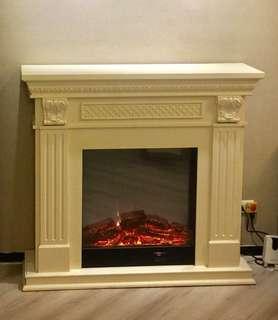 壁爐 美式壁爐 歐式壁爐 情境壁爐 白色壁爐