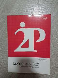 Mathematics (Intergated Programme ( 2IP)