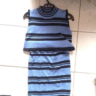 Stripes coordinates outfit