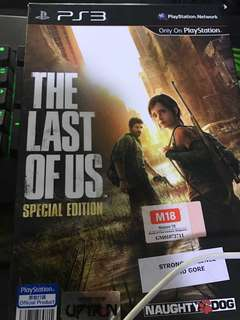PS3 The Last Of Us special edition