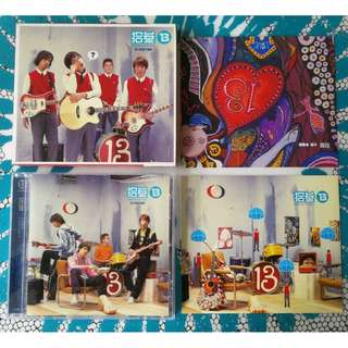 CD Taiwan Indie Band 13 Shi San 拾參樂團 Debut Album Taiwan Press