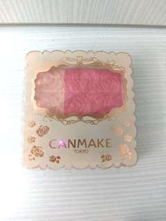 Canmake 粉色腮紅