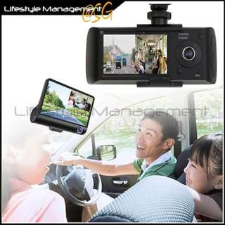Car Audio Video DVR Dual Camera (GPS or Reverse Camera)