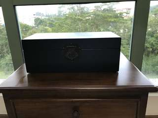Black Decorative Chinese Box/Chest