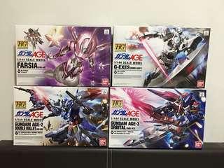 HG Gundam Age Kits