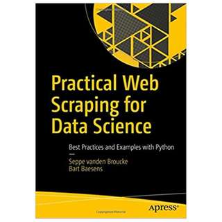 Data Science ebook: Practical Web Scraping for Data Science