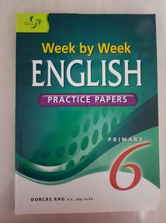 Week by week English practice papers primary 6