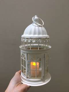 Fairy castle candle holder