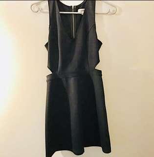 Abercrombie Black Semi Formal Dress