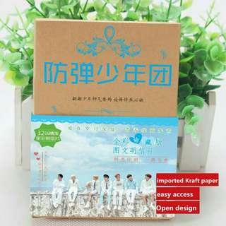 BTS Kraft Postcard