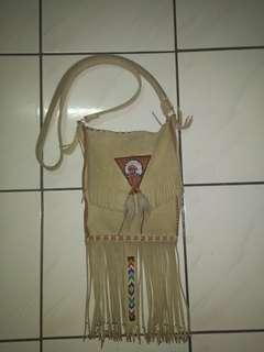 Reprice!! Tas indian 100% kulit asli handmade