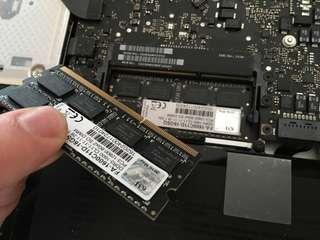 Macbook Pro Ram