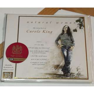 CD The Very Best of Carole King Gold Disc