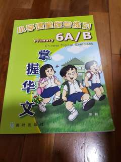 Chinese topical exercises for primary 6A and 6B