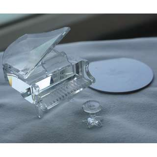 Swarovski Silver Crystal piano (ref 016)