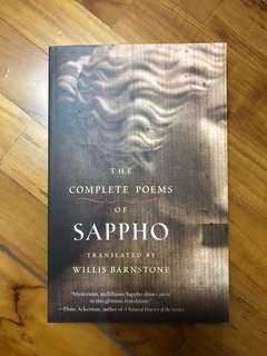 The complete poems of Sappho translated by Willis Barnstone