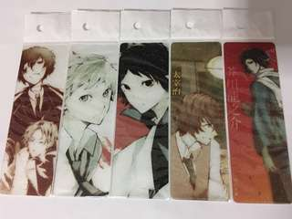 Bungo Stray Dogs unofficial bookmark