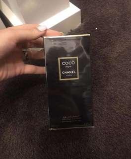 Chanel coco noir shower gel
