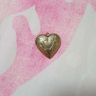 Heart Shaped Gold Locket