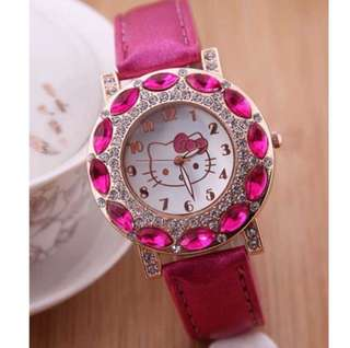 Hello Kitty Watch Pink
