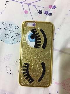 IPHONE 6 CASE glitter eye