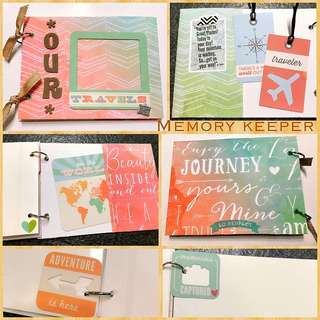 Handmade Travel Album - Our Travels