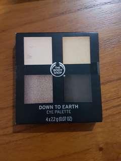 New Body shop eye shadow palette