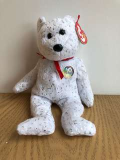 BEANIE BABY 10 Year Anniversary Special Edition