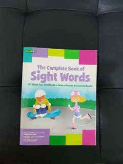 Flashkids the complete book of sight words