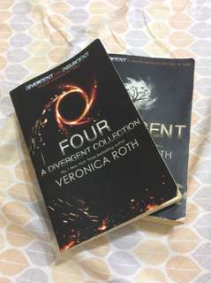 urgent !! four & insurgent from the divergent series