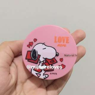 Ready innisfree x snoopy no sebum mineral powder