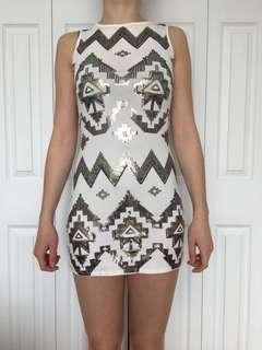 EXPRESS Sequin Dress - Size XS