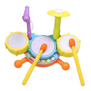 *Baby Musical Toy*Funny Jazz Drum(with Microphone)