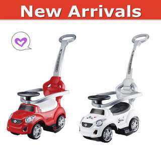 3in1 *Baby Scooter/ Ride on Car 🚗 Baby Walker with Safety Bar&Music