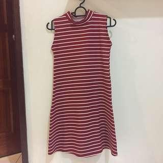 Red Stripes Dress #swap