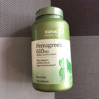Fenugreek Supplement