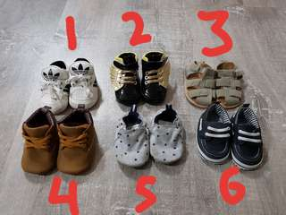 Baby Shoes 3-9mths