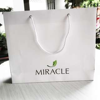 Miracle clinic paperbag size besar