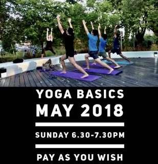 Yoga class at Woodlands