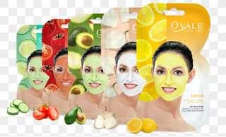 Facial Mask per pack 12pcs