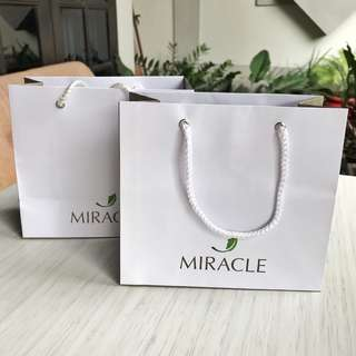 Miracle clinic paperbag